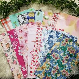 100 PICK YOUR OWN 6X9 POLYMAILERS